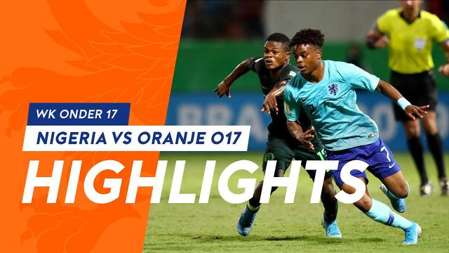 Highlights Nigeria - Onder 17 1-3  (WK onder 17)